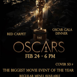 Oscars Night Poster