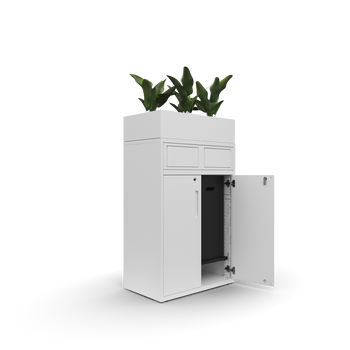 Goodwood Plus recycle unit with planter