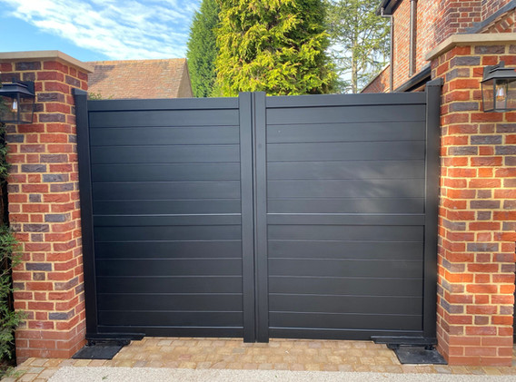 Dulwich Aluminium Gates