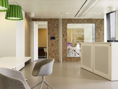 Metal office sliding door cabinet