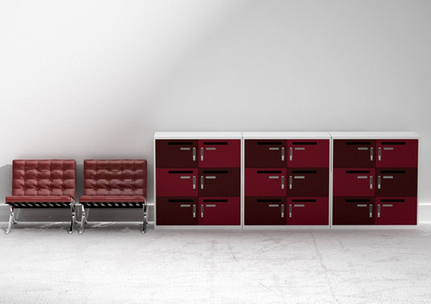 Metal Office locker with digital combi lock