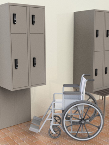 Accessible Lockers