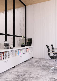 Metal office modular credenza