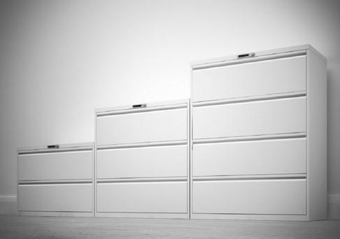 Goodwood drawers with digital combi locks