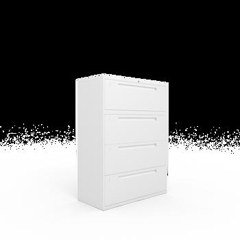 Goodwood Plus 4 drawer side filer