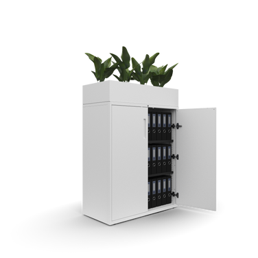 Newmarket cupboard with planter