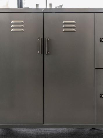 Custom Locker & cupboard
