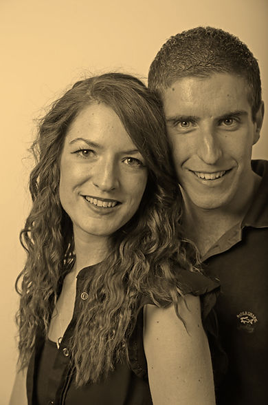 Classic Sepia Photo-edit of a Couple
