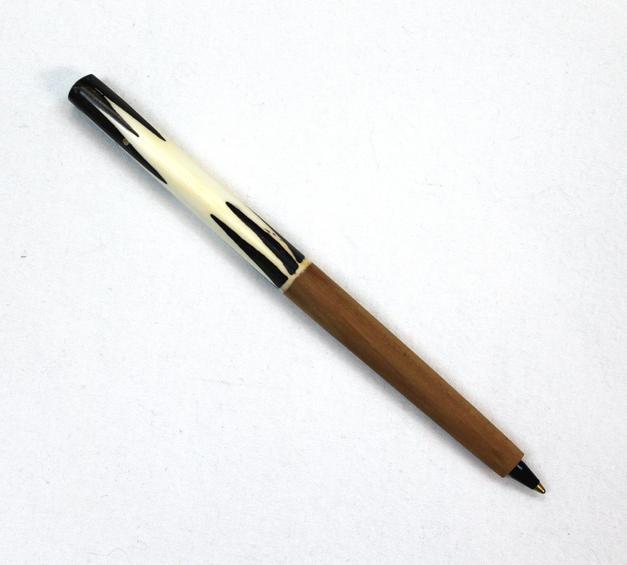 Wood Batik Handcrafted Pen - Made in Kenya