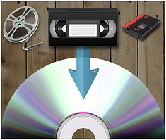 Video transfers by VideoGoGo, with Studio 55