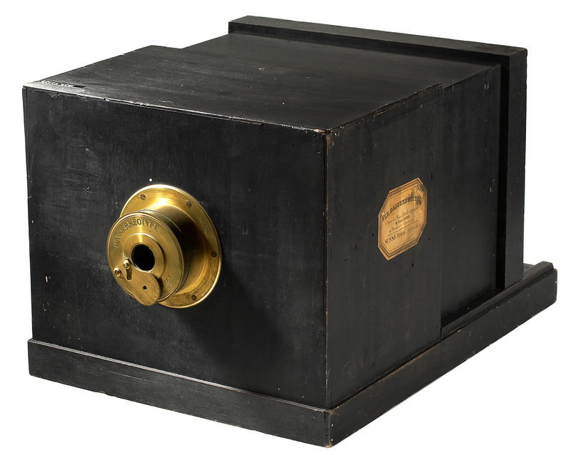 The Daguerreotype, the first photographic camera