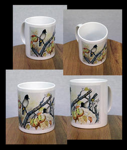 Original Watercolour Painting Printed on a Mug