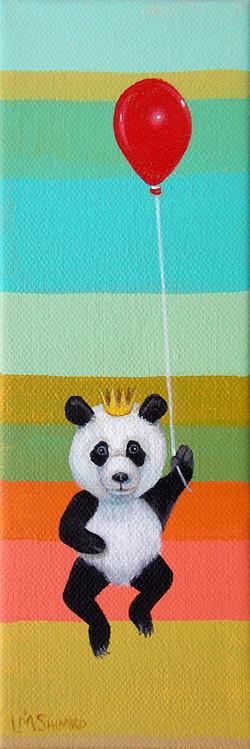 Panda Red Balloon