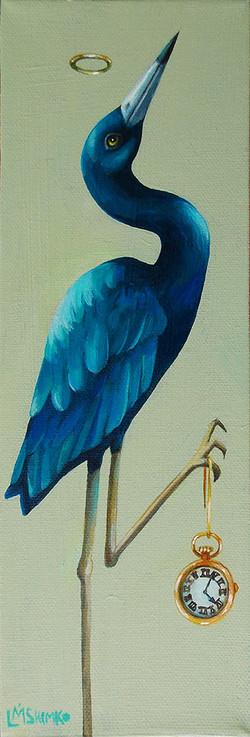 Little Blue Heron Time