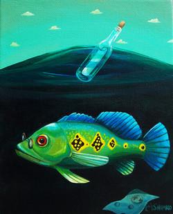 Peacock Bass Message