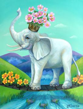 Elephant Flower Bridge