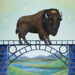 Royal bison bridge