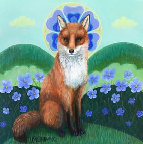 Purple Flax Fox