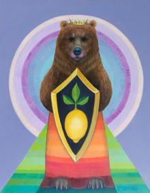Lemon Shield Bear