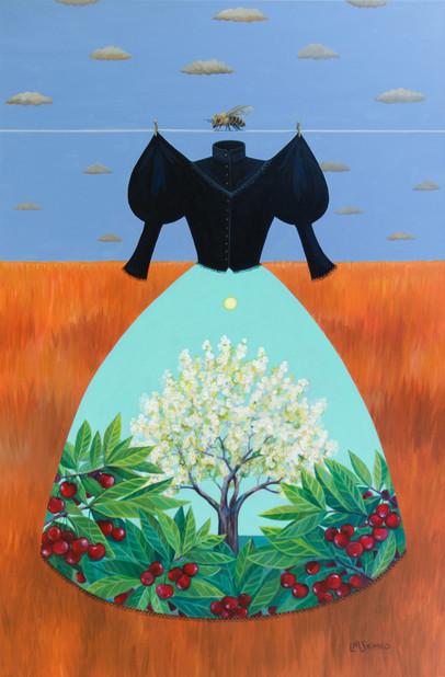 Mourning Dress Cherry Tree