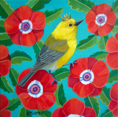 Royal Prothonotary Warbler