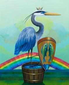 Blue Heron Shield