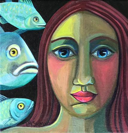 Dream Gaze Three Fish