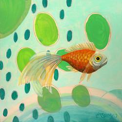 Goldfish Blue Green