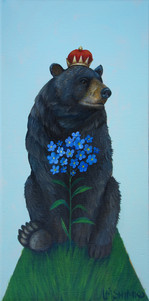 Black Bear Forget-me-nots