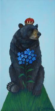 Black Bear Forget-me-nots