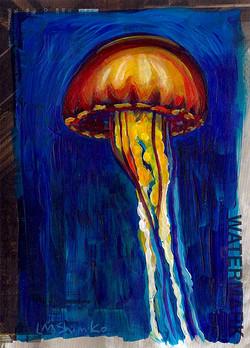 Jellyfish Sketch III