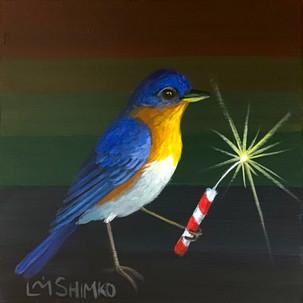 Firecracker Bluebird