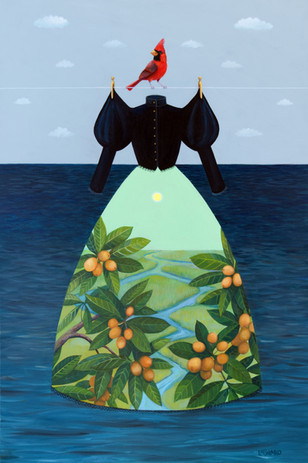 Mourning Dress Lowcountry (Loquat)
