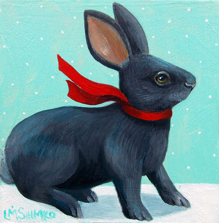Red Scarf Rabbit
