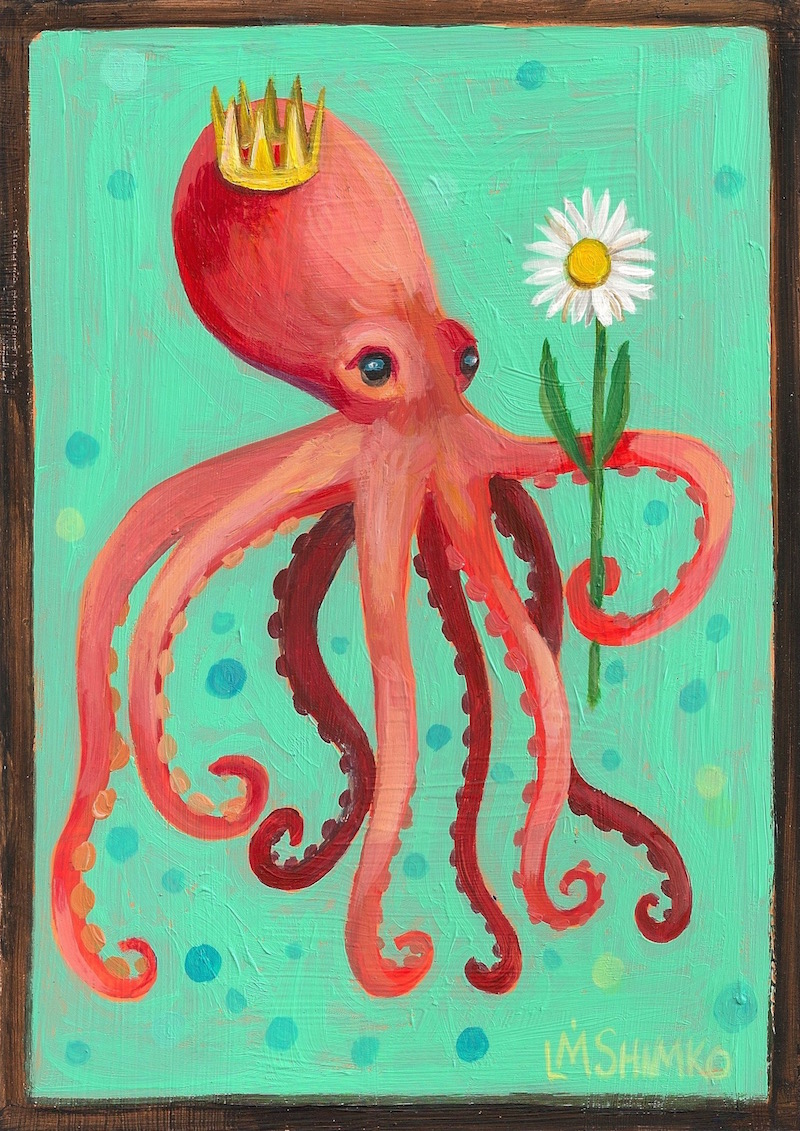 Crown Daisy Octopus