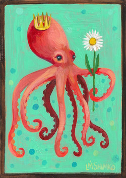 Crown Daisy Octopus
