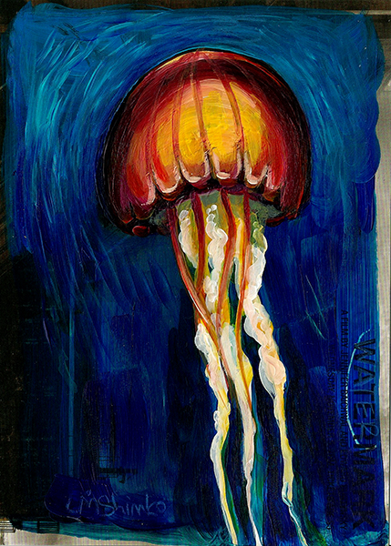 Jellyfish Sketch IV