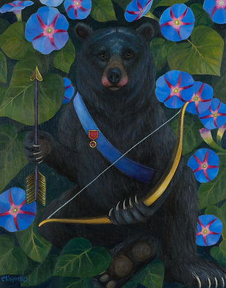Cupid Bear, Morning Glory