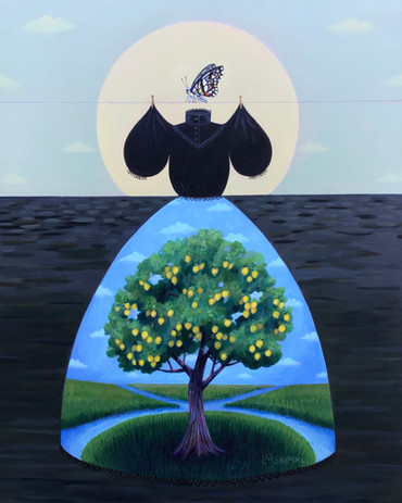 Mourning Dress (Lemon Tree)