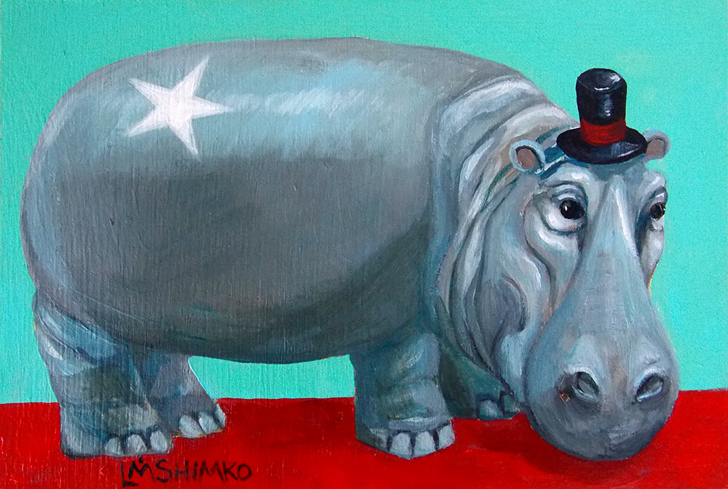 Red Carpet Hippo