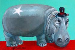 Red Carpet Hippo