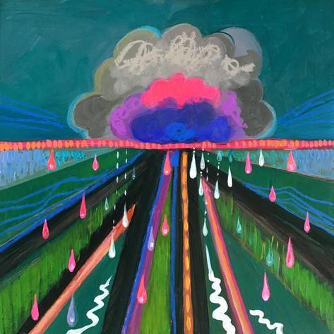 Rain Garden Cloud II