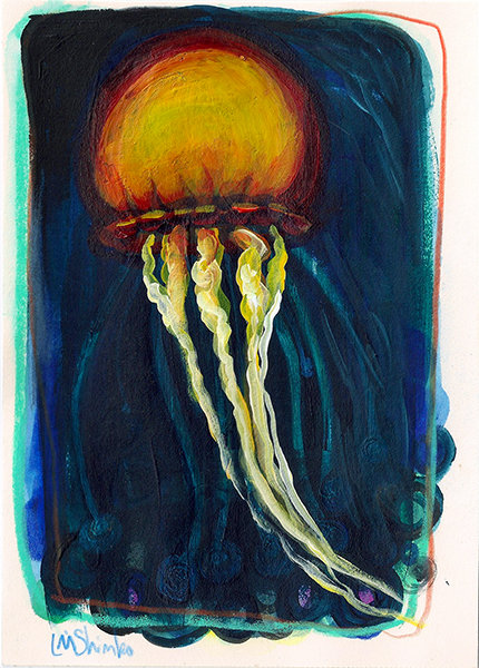 Jellyfish Sketch II