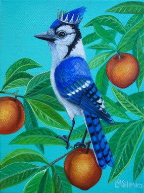 Royal Blue Jay Peaches