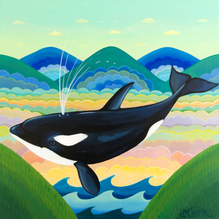 Orca Whale Mountain