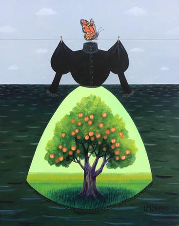 Mourning Dress (Peach Tree Monarch)