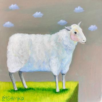 Lavender Cloud Sheep