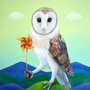 Wind Power Owl