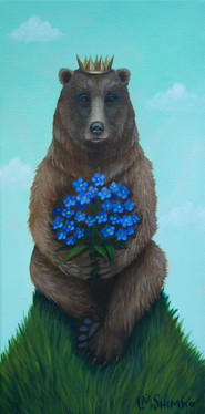 Grizzly Forget-me-nots
