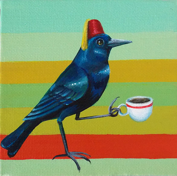 Coffee Crow